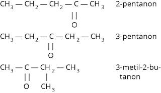 Isomer posisi senyawa keton