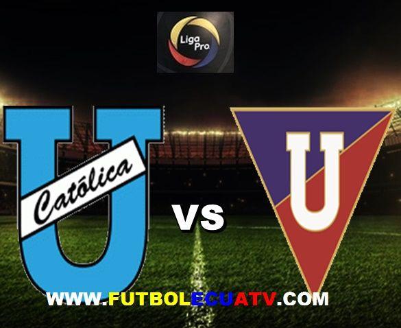 Universidad Católica se enfrenta a Liga de Quito en vivo desde las 18h30 horario local a disputarse en el estadio Olímpico Atahualpa por la fecha 14 del Fútbol Ecuatoriano, siendo el árbitro principal Guillermo Guerrero con transmisión de los canales autorizados DirecTV Sports, CNT y GolTV.