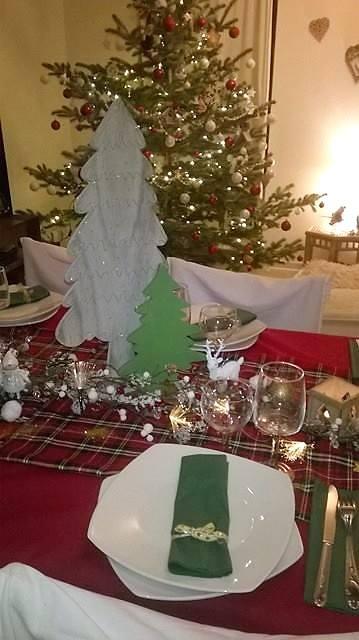 décorer table noel pas cher