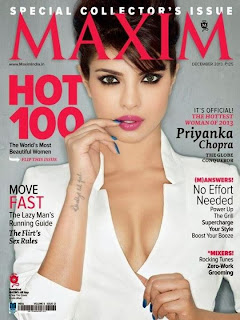 Priyanka Chopra's Maxim India Magazine December 2013 Photoshoot
