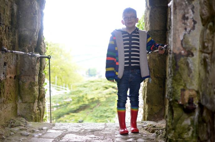 Carisbrooke castle, family fun on the isle of wight