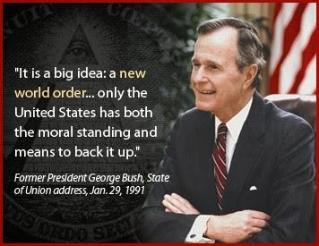 George bush senior new world order speech date