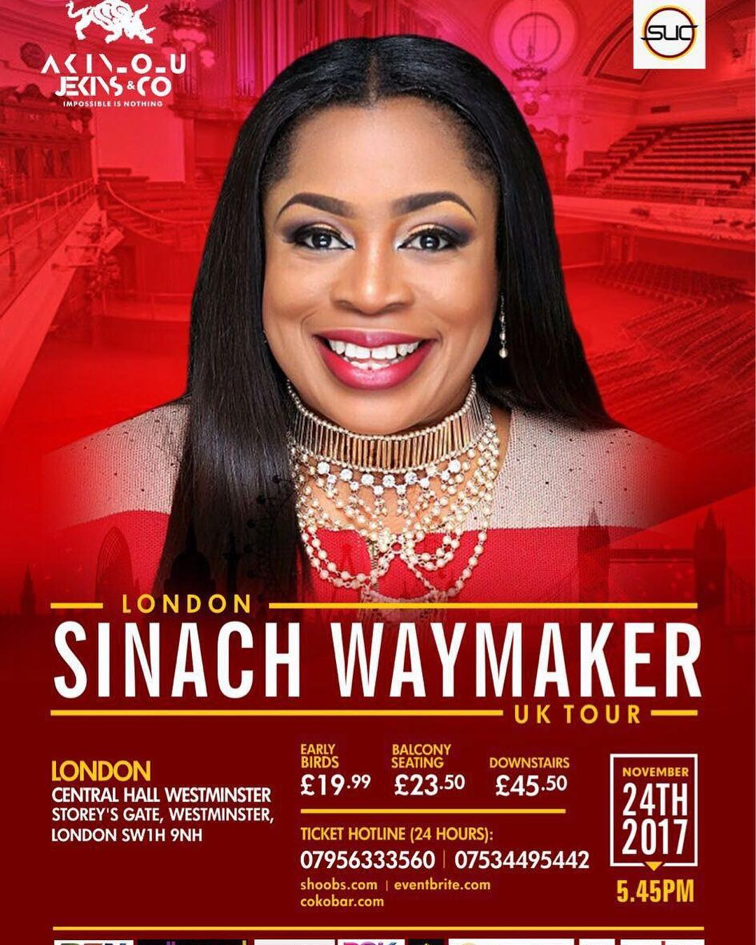 See | Sinach to visit London for a concert (Tour) - Gospelcity Blog