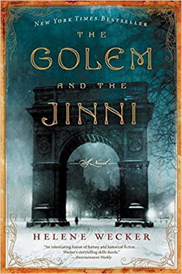 The Golem and the Jinni by Helene Wecker (Book cover)