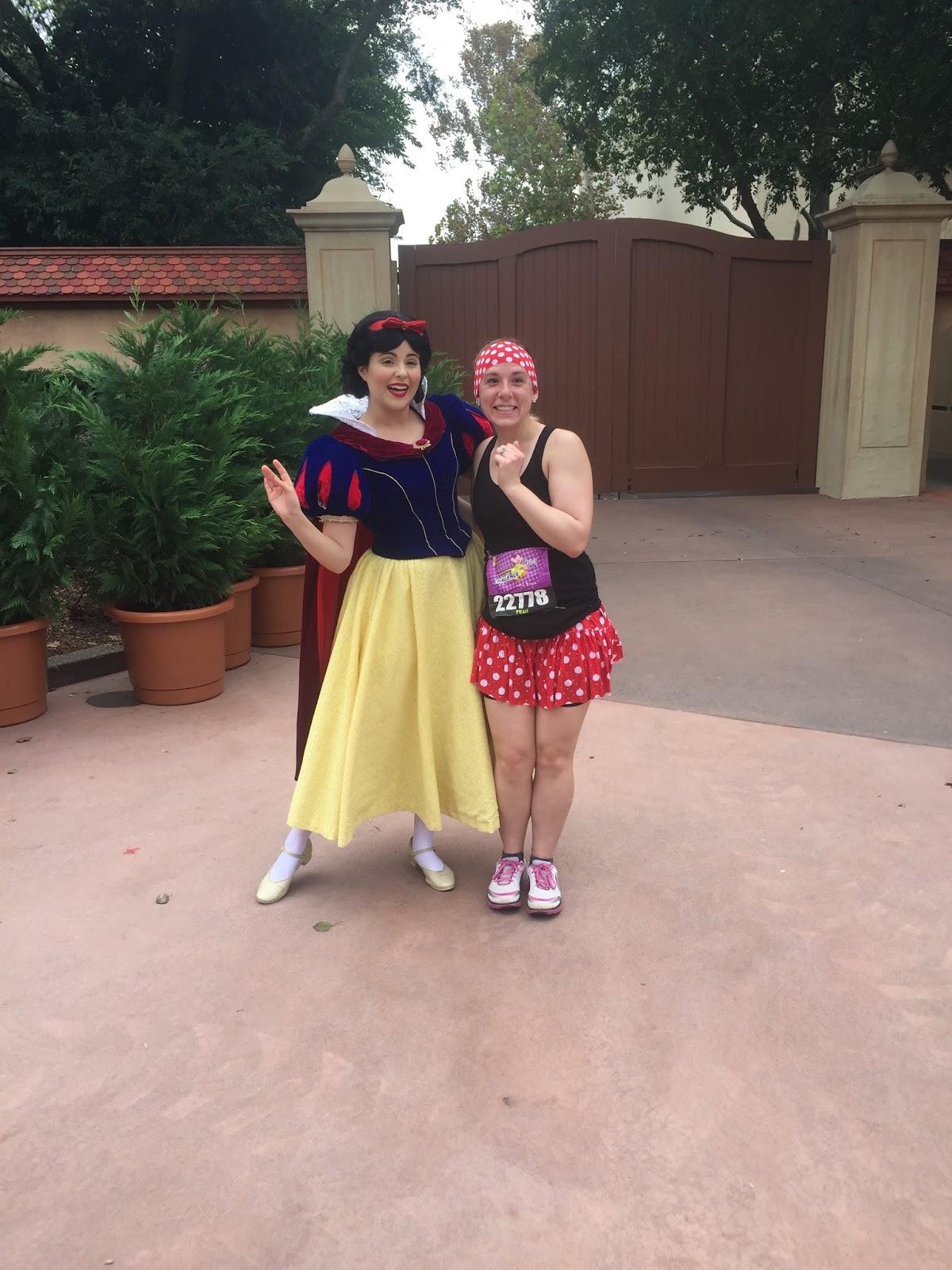 Dopey Challenge Mickey Marathon 2016 Snow White