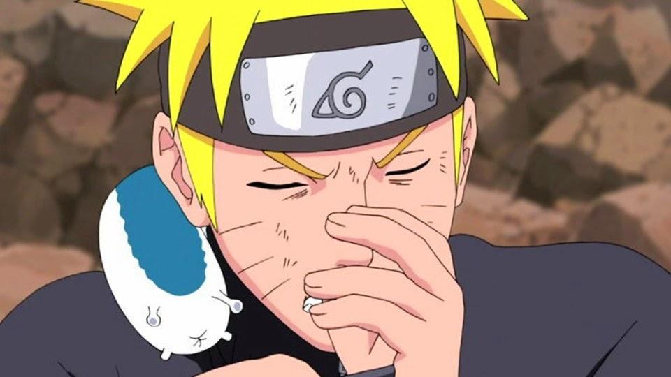 Naruto y Katsuyu