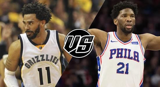 Live Streaming List: Memphis Grizzlies vs Philadelphia 76ers 2018-2019 NBA Season