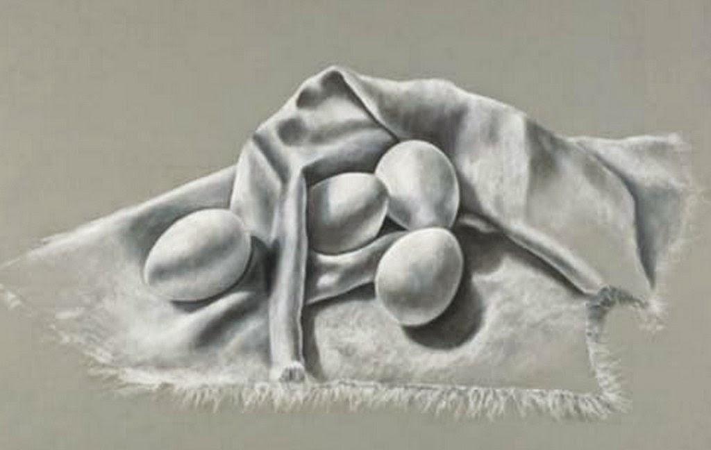 Imágenes Arte Pinturas: Dibujo De Bodegón A Lápiz
