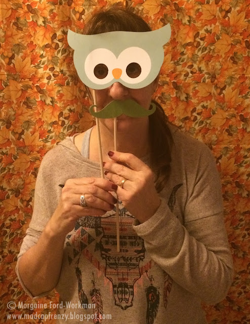 Woodland Creature Baby Shower photo booth