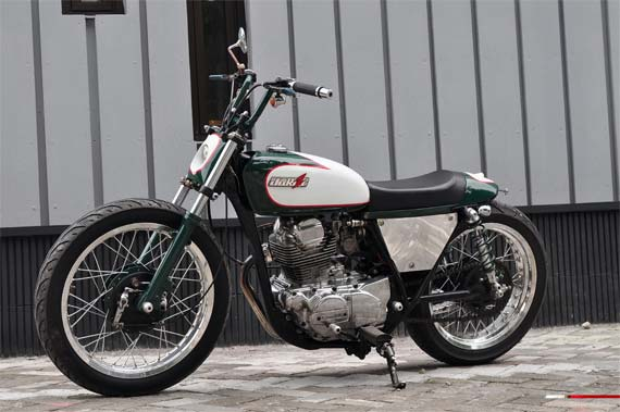 Best Modifikasi Motor : Kawasaki Binter Merzy 1965 Xtreme