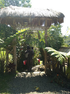 Gapura pintu masuk