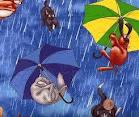 Идиома it's raining cats and dogs