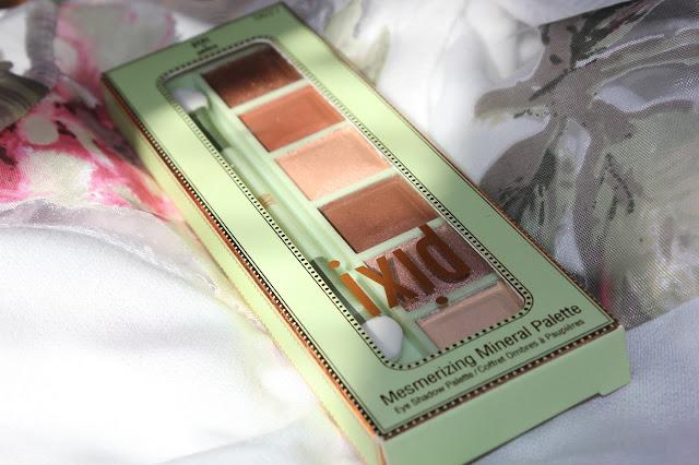 Отзыв: Очаровательная палетка минеральных теней от PIXI в медно-персиковых тонах #copper peach.