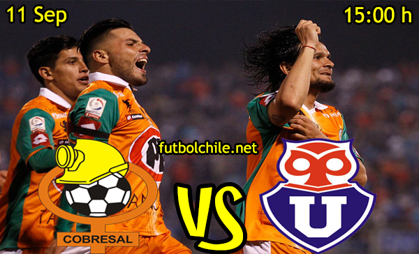 Cobresal vs Universidad de Chile,
