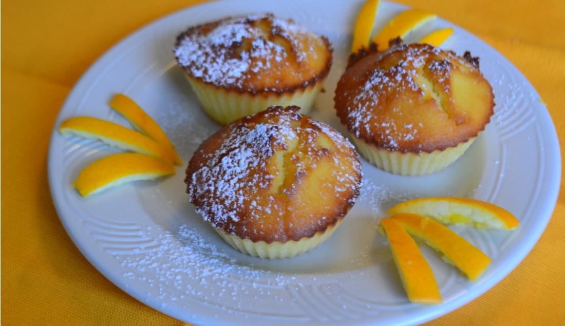 LA GAIA CUCINA DI PATTY...: Muffin allo yogurt, arancia e zenzero
