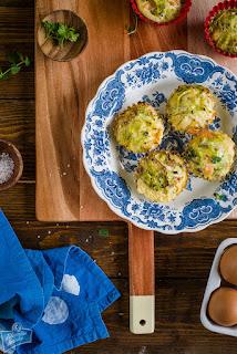 Muffiny z łososiem