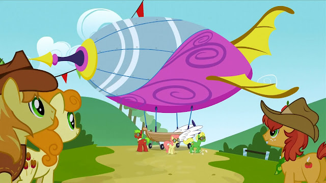 MLP Season 7 Episode 22 Revealed - Once Upon a Zeppelin