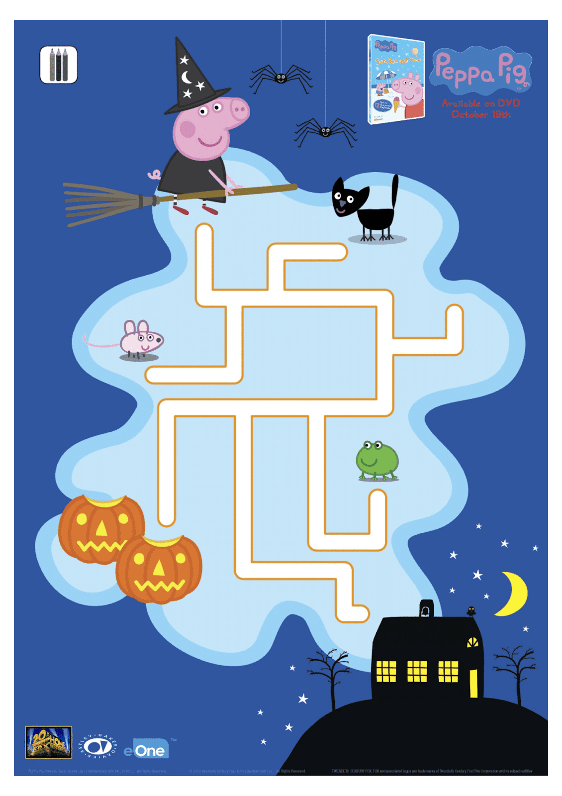 Have A Spooktacular Halloween With Peppa Pig Free