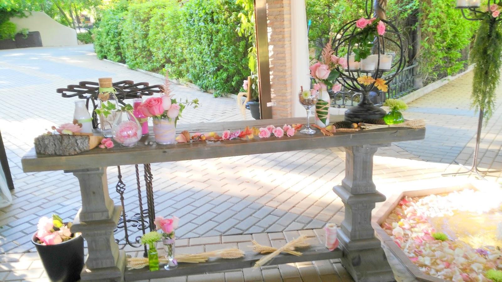 Decoraci n de bodas vintage r stico chic la boda al aire - Decoracion rustico chic ...