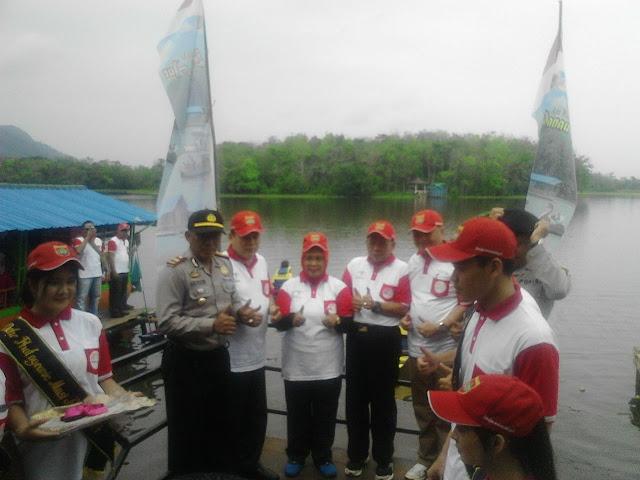 Dinas Kebudayaan dan Pariwisata Gelar Festival Danau Aur 2017