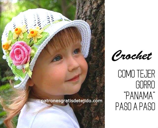 TUTORIAL CROCHET GORRO