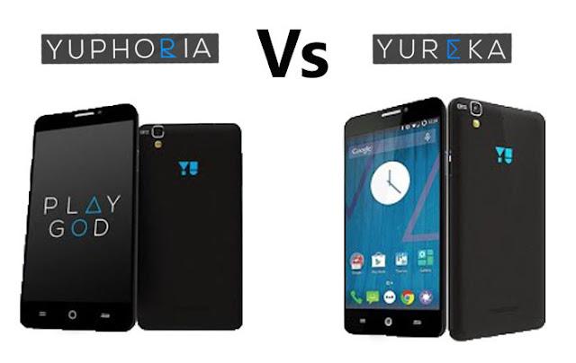 Yu Yuphoria Vs Yureka Comparison