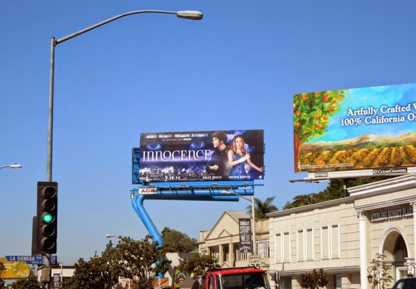 Innocence movie color billboard Sunset Strip