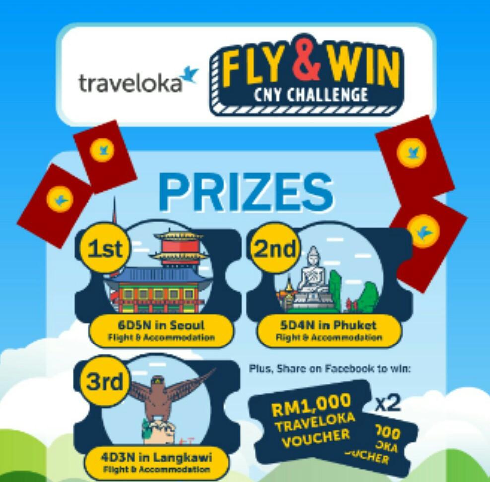 Traveloka Fly & Win CNY Challenge