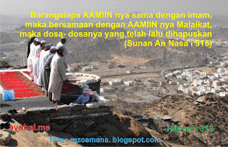 Keutamaan Membaca Aamiin Bersama Imam