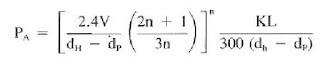 Annular flow equations turbulent laminar pressure loss friction