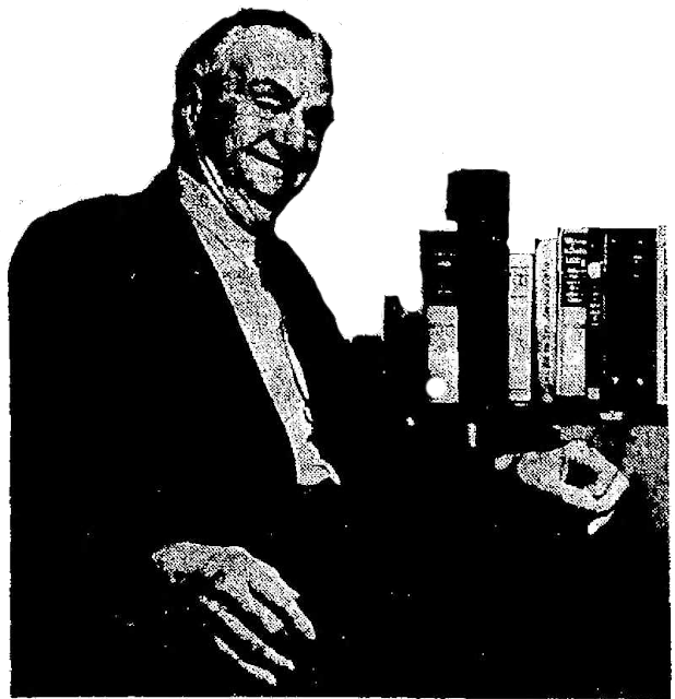 Ramon F. Adams c. 1965 in the Tucson Daily Citizen