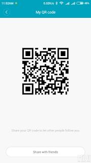 Bagaimana cara memindai kode QR dengan Xiaomi Redmi