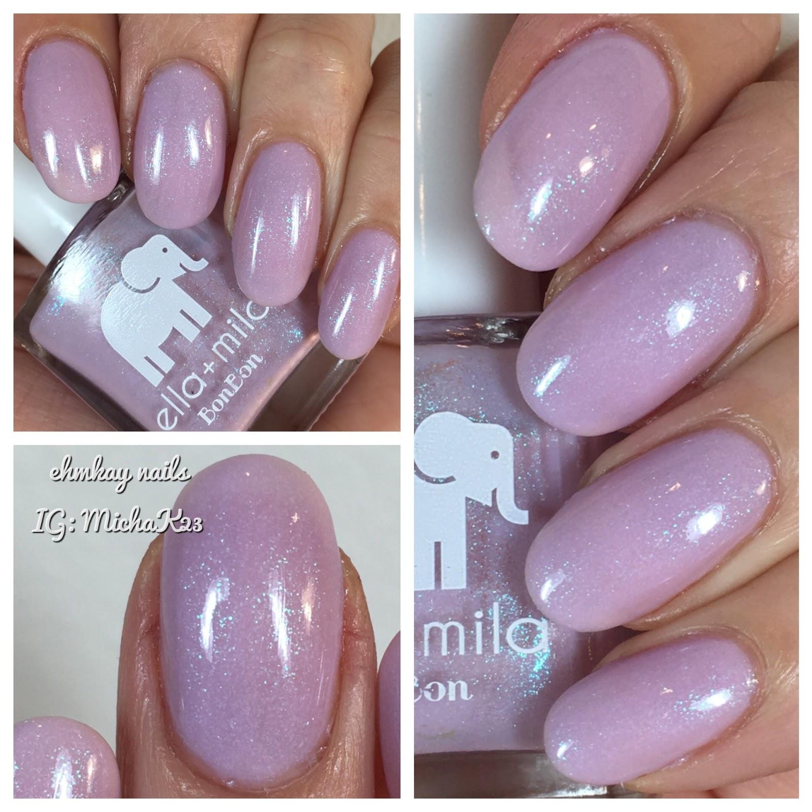 ehmkay nails: Ella + Mila Midnight in Paris