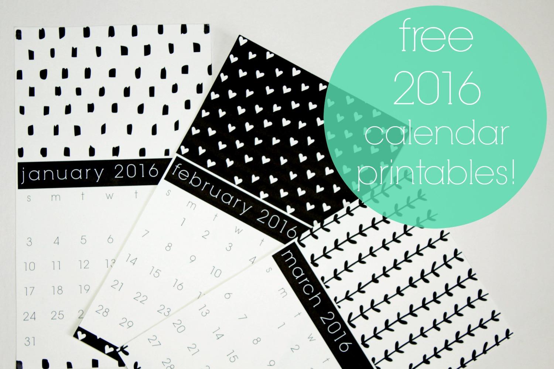 Hoping For Rocketships Calendar Printables