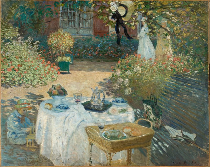 Monet. Tarde de domingo