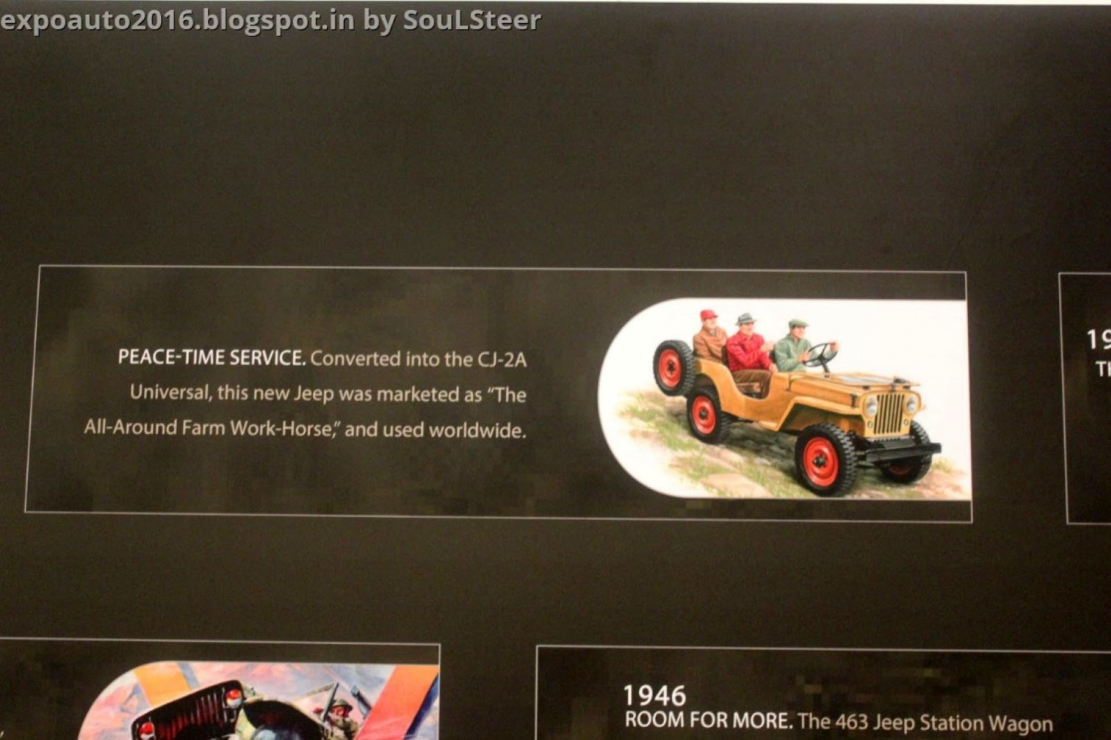 Auto Expo 2016 By Soulsteer Learn About The History Of Jeep From 1941 Willys Station Wagon Ma To 75th Anniversary Edition Vehicles At