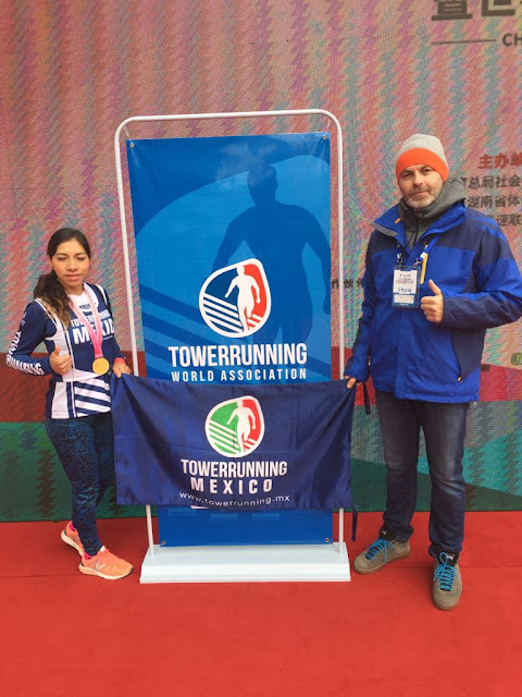 Towerrunning México en China