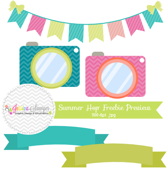 Facebook Hop Equals Clipart Freebies! | Jessica Sawyer Design