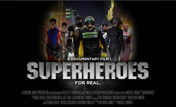 Superheroes 2011 [DVDRip] Español Latino [1 Link] Documental