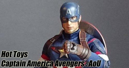 Hot Toys Avengers: Age of Ultron Captain America bemutató