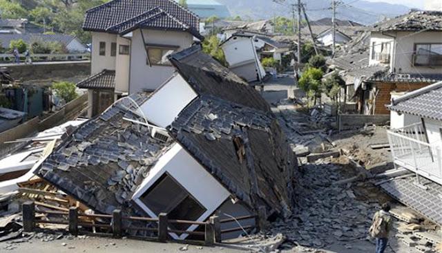 जापान में भूकंप से भीषण तबाही, कई लोगों की मौत