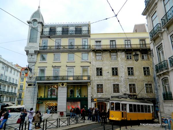 Praça Luiz de Camões, bairro do Chiado, Lisboa
