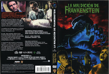 Carátula: La maldición de Frankenstein (1957) (The Curse of Frankenstein)