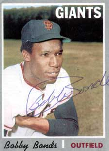 San Francisco Giant Bobby Bonds