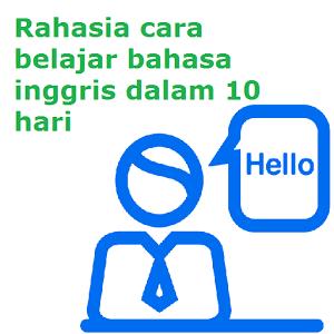 rahasia cara belajar bahasa inggris dalam 10 hari