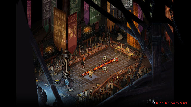 The Banner Saga Gameplay Screenshot 1