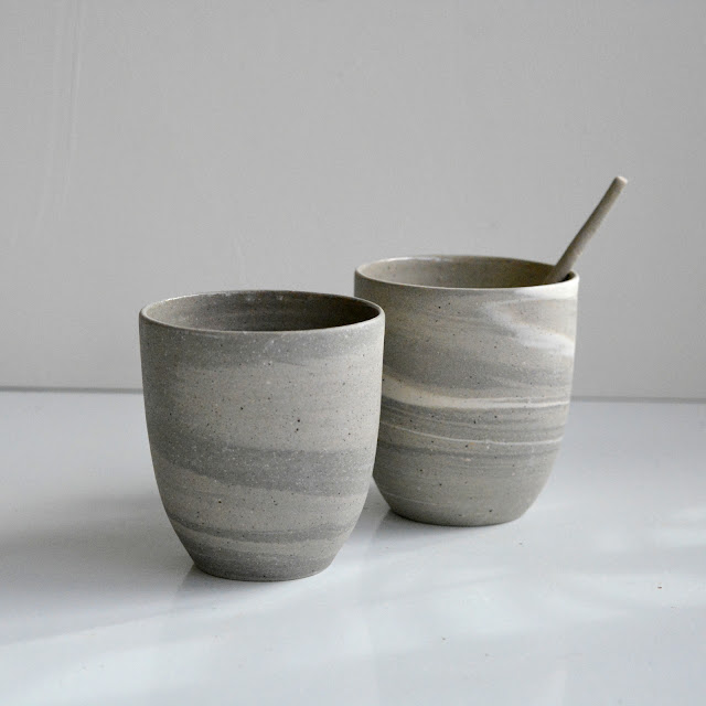 http://www.nootenzo.nl/Recycled-cafe-lungo-cups-without-ear-set-of-2-grey-sand