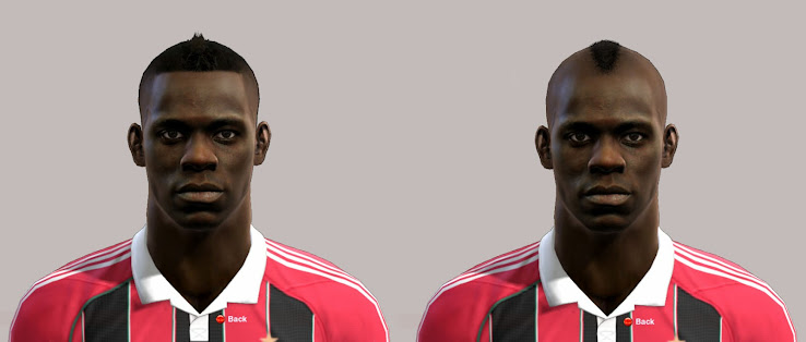 Mario Balotelli (AC Milan) PES 2013 Face by Alex7