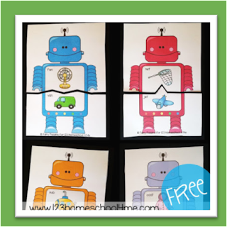 rhyming robots puzzles