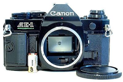 Canon AE-1 Program, Front